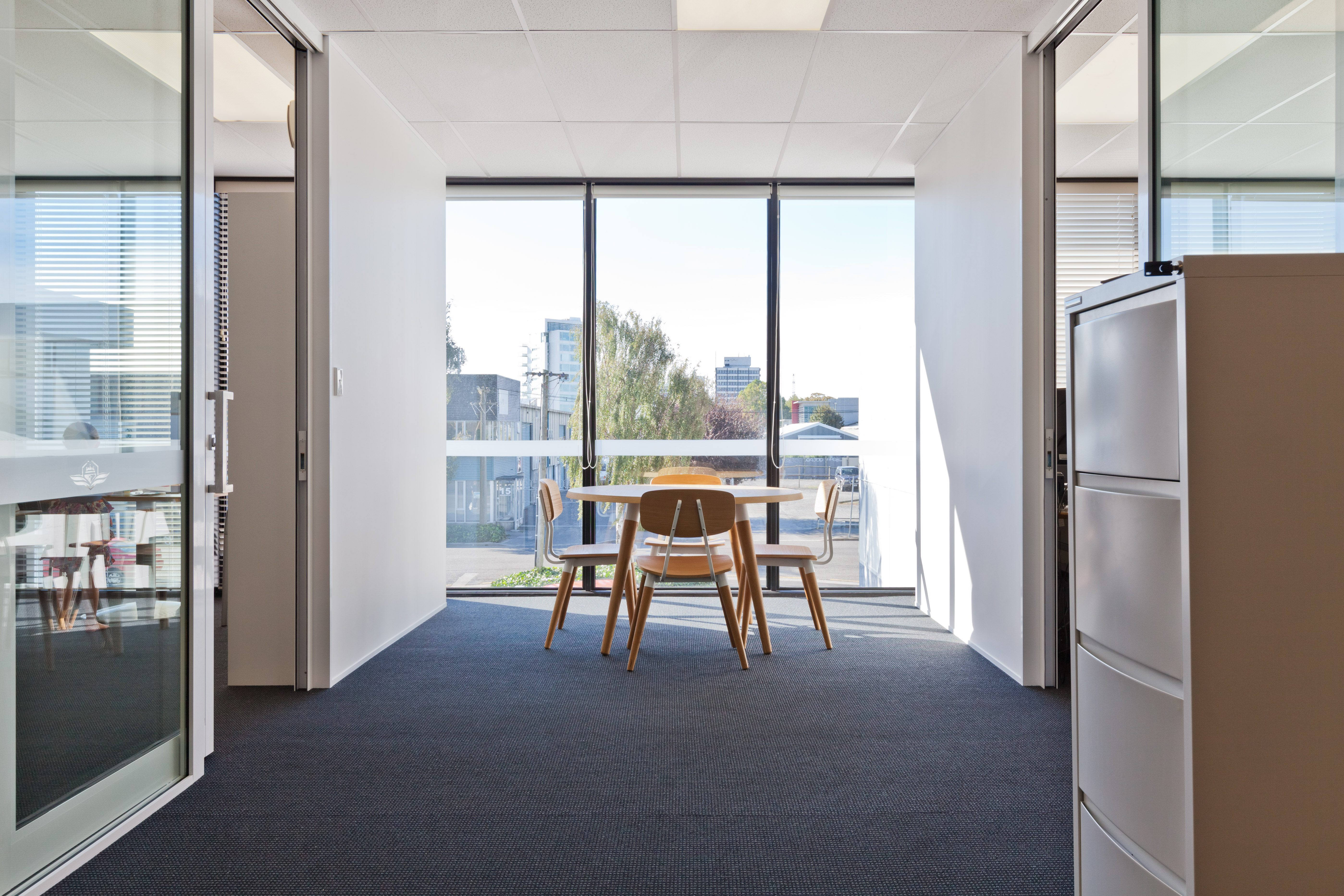 Commercial office fitout meeting room