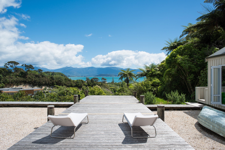 Golden Bay sea views NZ architects