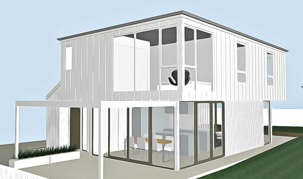 Kuaka Place new house architecture concept
