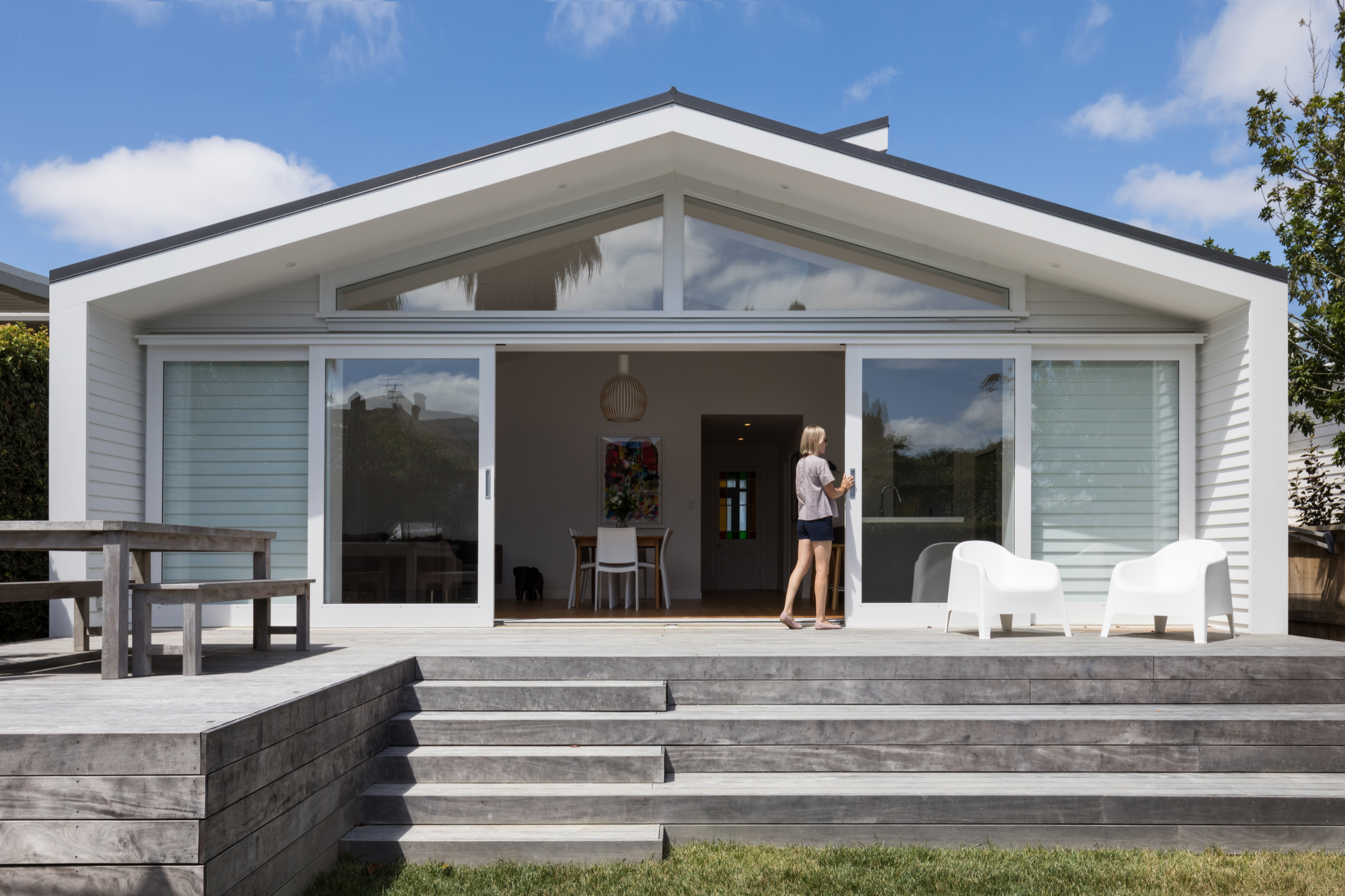 Grey Lynn villa renovation architect pavilion extension