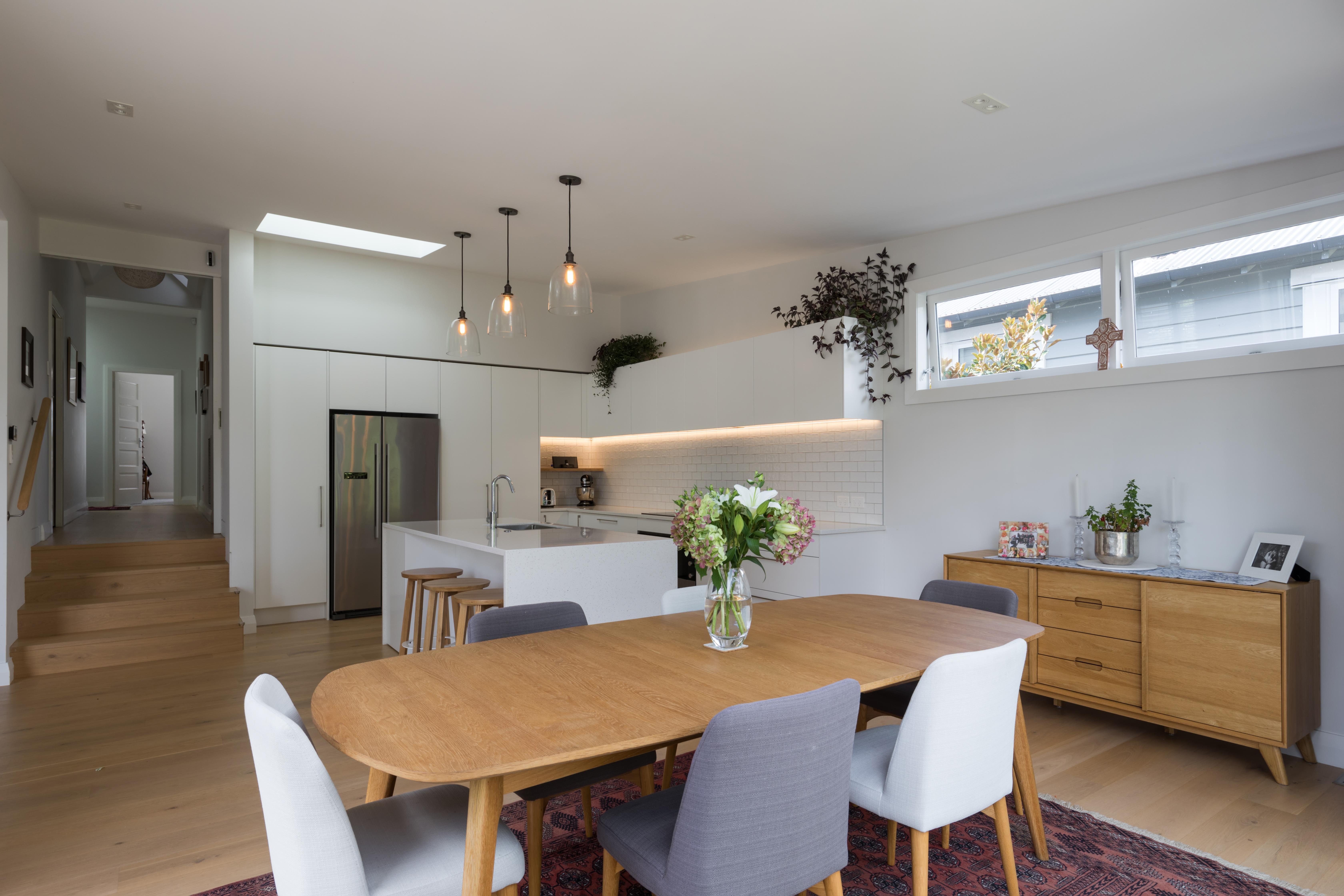 contemporary bungalow kitchen extension