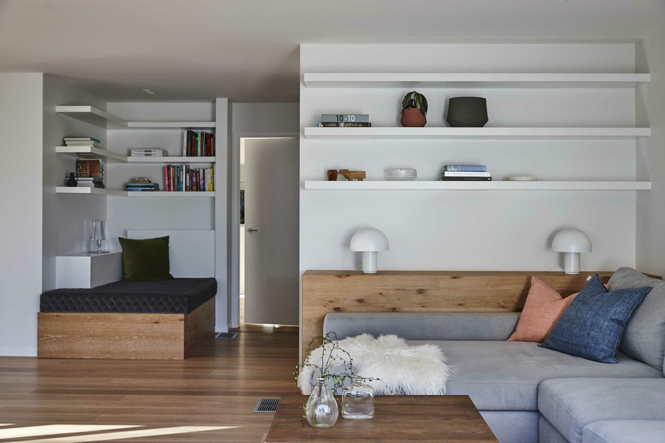 Living room and Day bed