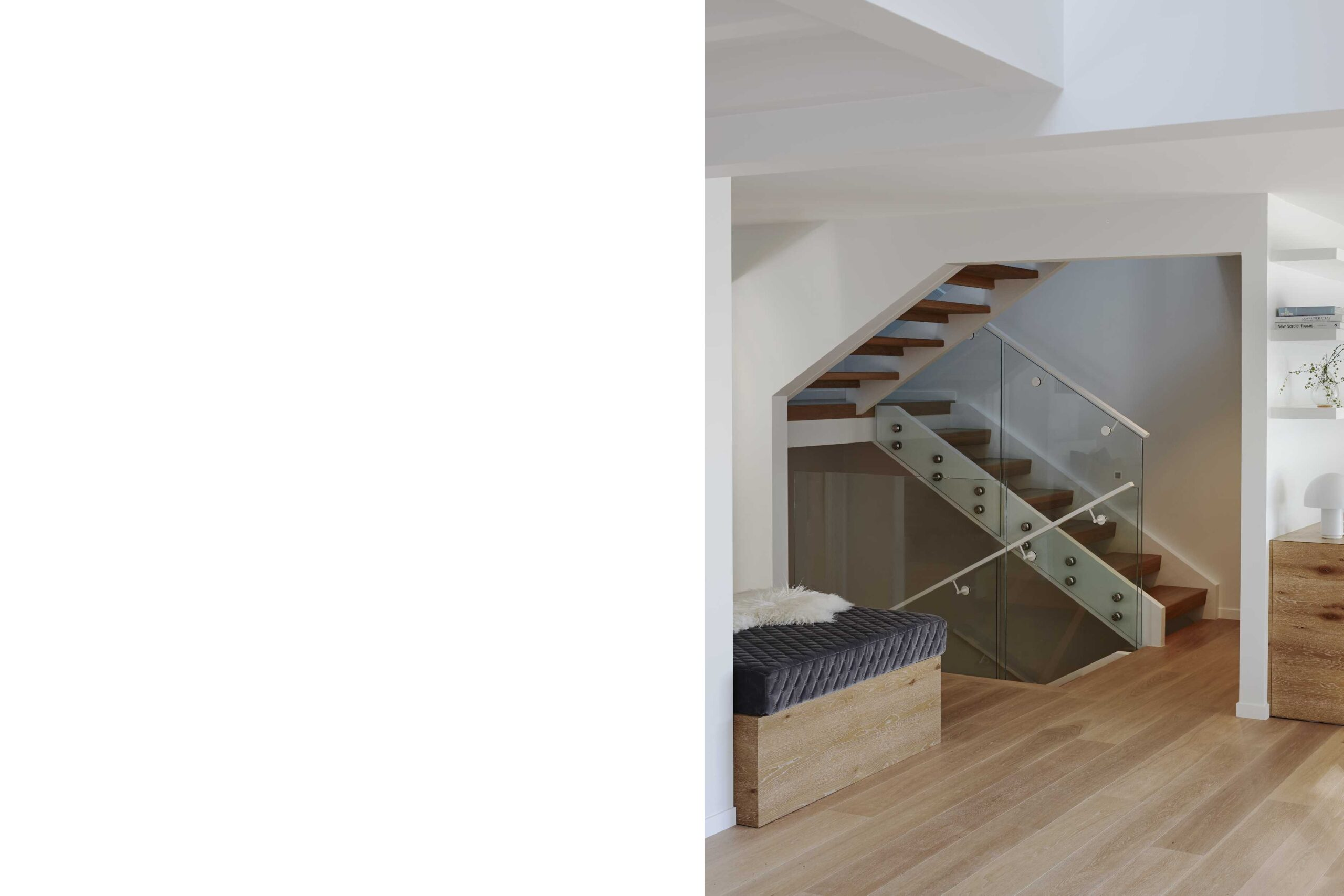Open stair